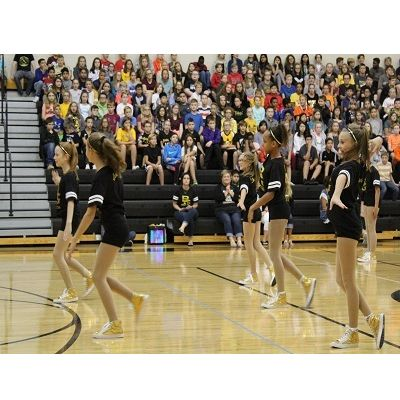 September Pep Rally Celebrates Fall Sports