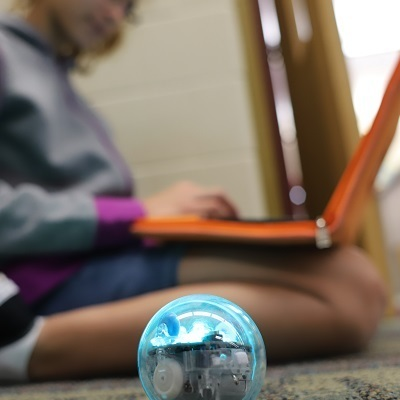 Students discover coding is a ball