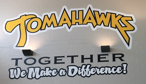 Tomahawks Together logo